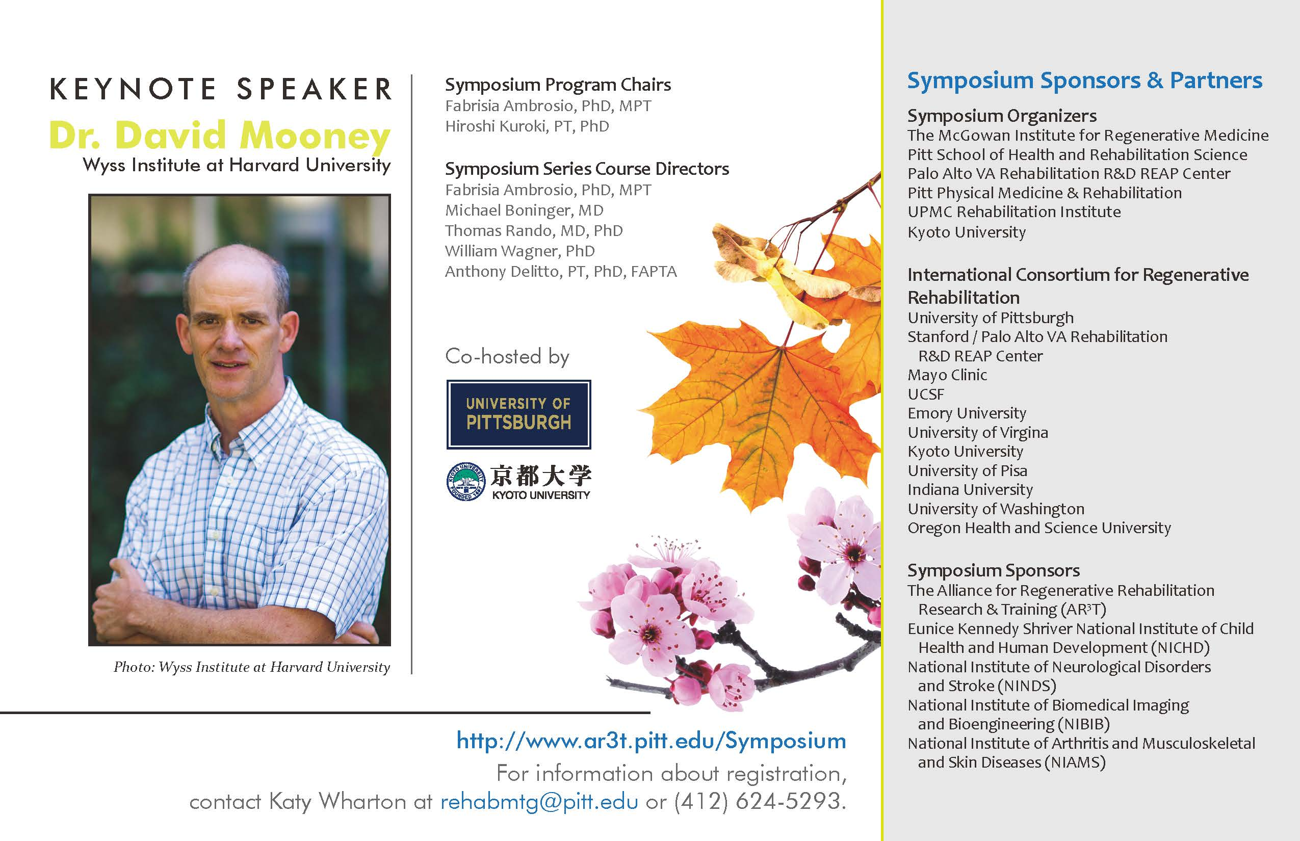 Save the date for the 6th Annual/1st International Symposium on