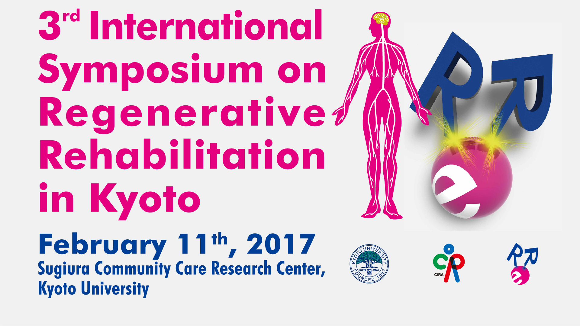 3rd international symposium on regenerative rehabilitation in kyoto-2