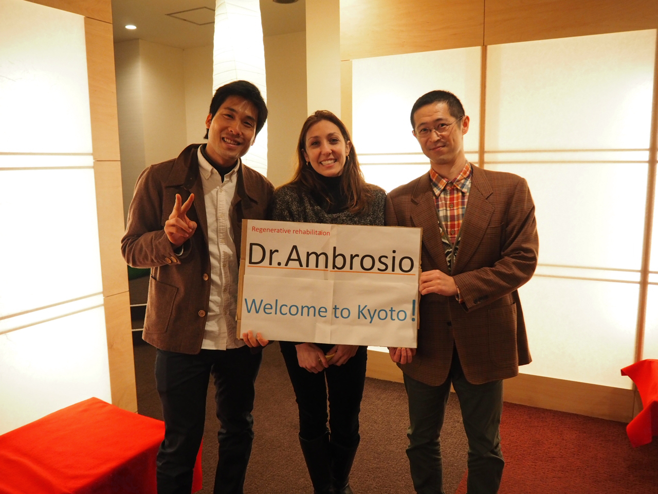 Dr.Ambrosio and us